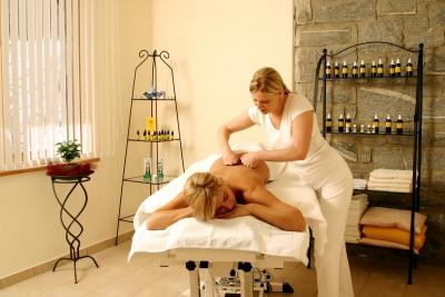 Massage/Heubad